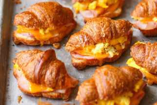 Freezer Croissant Breakfast Sandwiches