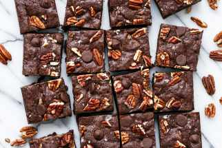 Bourbon Pecan Brownies