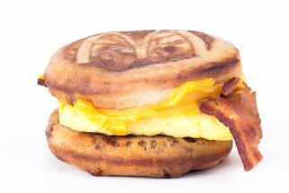 Bacon, Egg & Cheese McGriddle