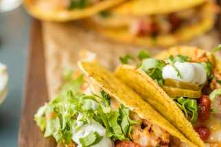 Oven-Baked Spicy Chicken Tacos