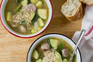 Sausage and Zucchini Soup
