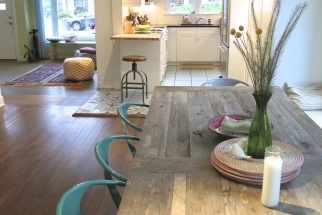 Open Floor Plan Living Dining Room House Tour