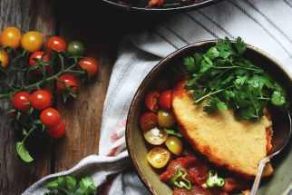 Summer Chili Cornbread Cobbler