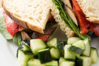 Portobello Mushroom Sourdough Sandwich