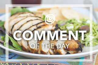 Chicken slices - Comment of the Day
