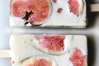 Fig and Ricotta Cheesecake Popsicles