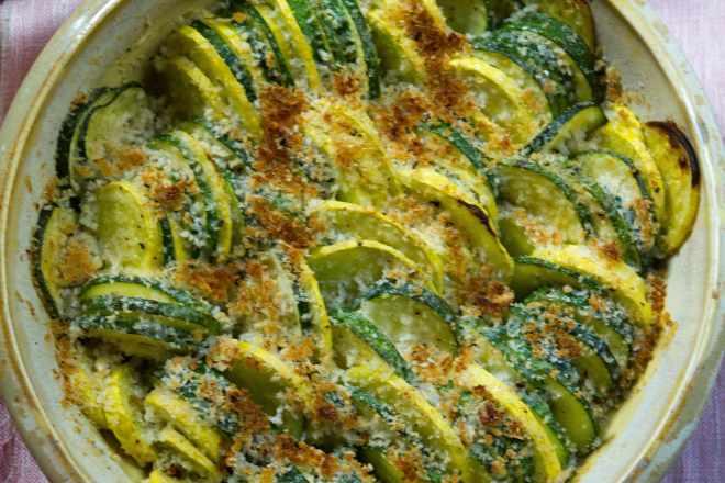 Baked Summer Squash Recipe