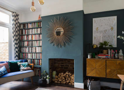 house tour a design blogger s colorful london home apartment therapy