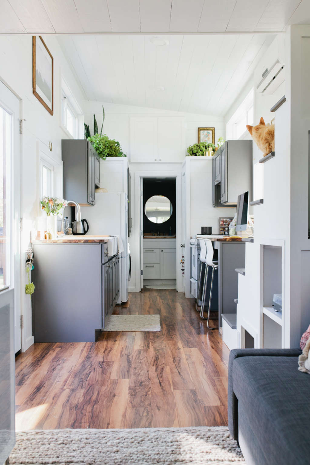 Smart & Stylish Use of Space in this 312 Square Foot Home