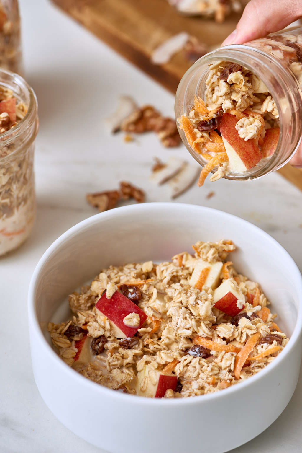 These Overnight Oats Taste Just Like Morning Glory Muffins