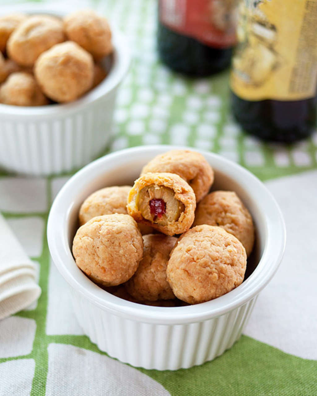 Party Appetizer Recipe: Cheddar Olives