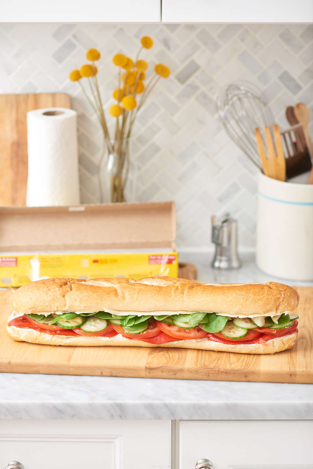 A Hearty Veggie Sandwich That Won't Mess Up the Kitchen