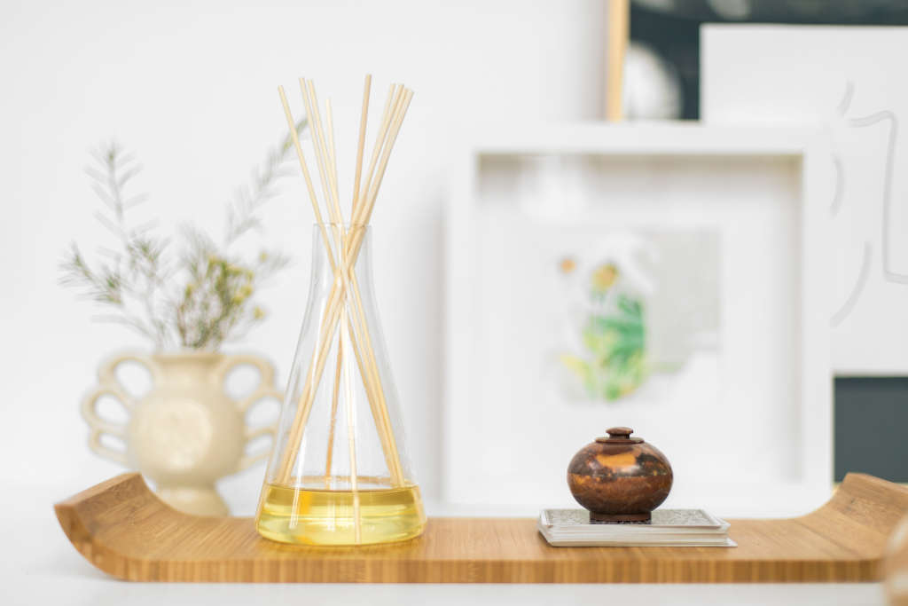 How To Make Homemade Reed Diffusers Essential Oils Apartment Therapy