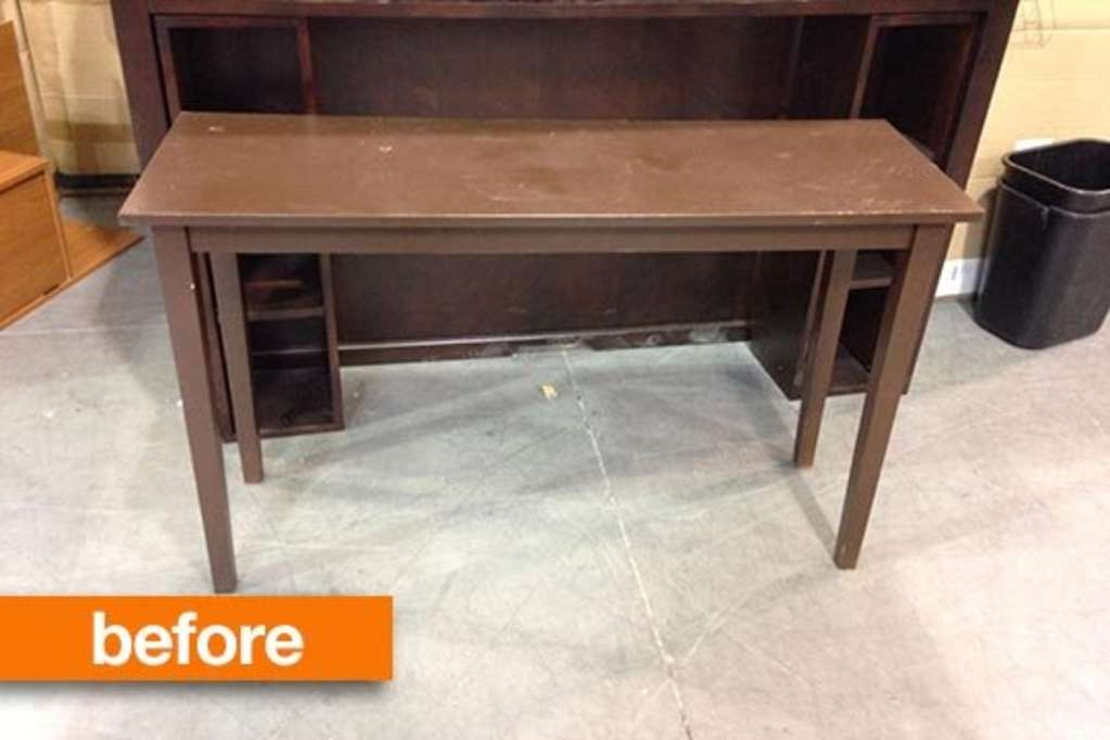 Before & After: A Thrifted Table Gets More Glam