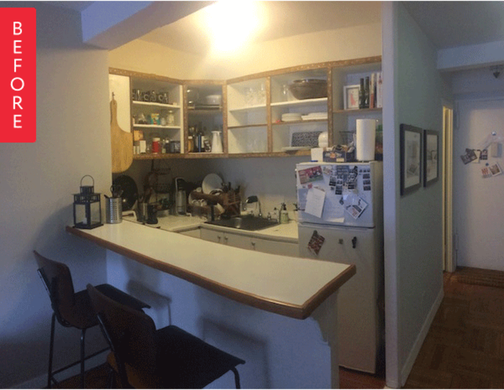 Before & After: Smart Choices for a Small Kitchen