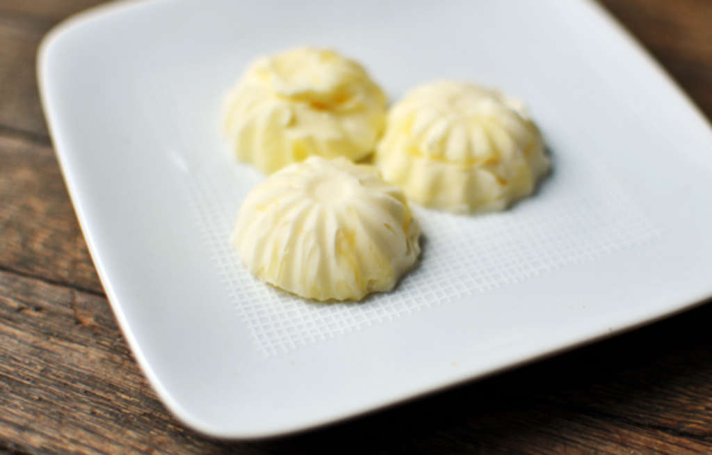 Breakfast Details How To Make Molded Butter Pats Kitchn