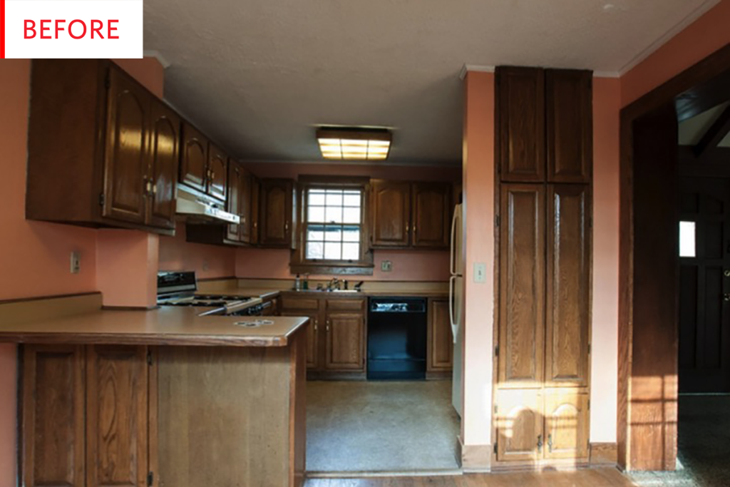 Before & After: This Kitchen Had One Thing Worth Saving