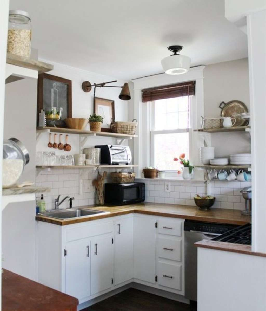 Kitchen Makeovers Before And After: 15 Kitchen Makeover Projects