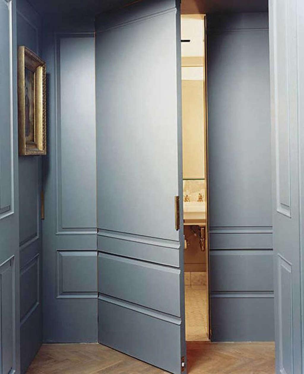 Secret Spaces: Hidden Doors in Paneled Walls