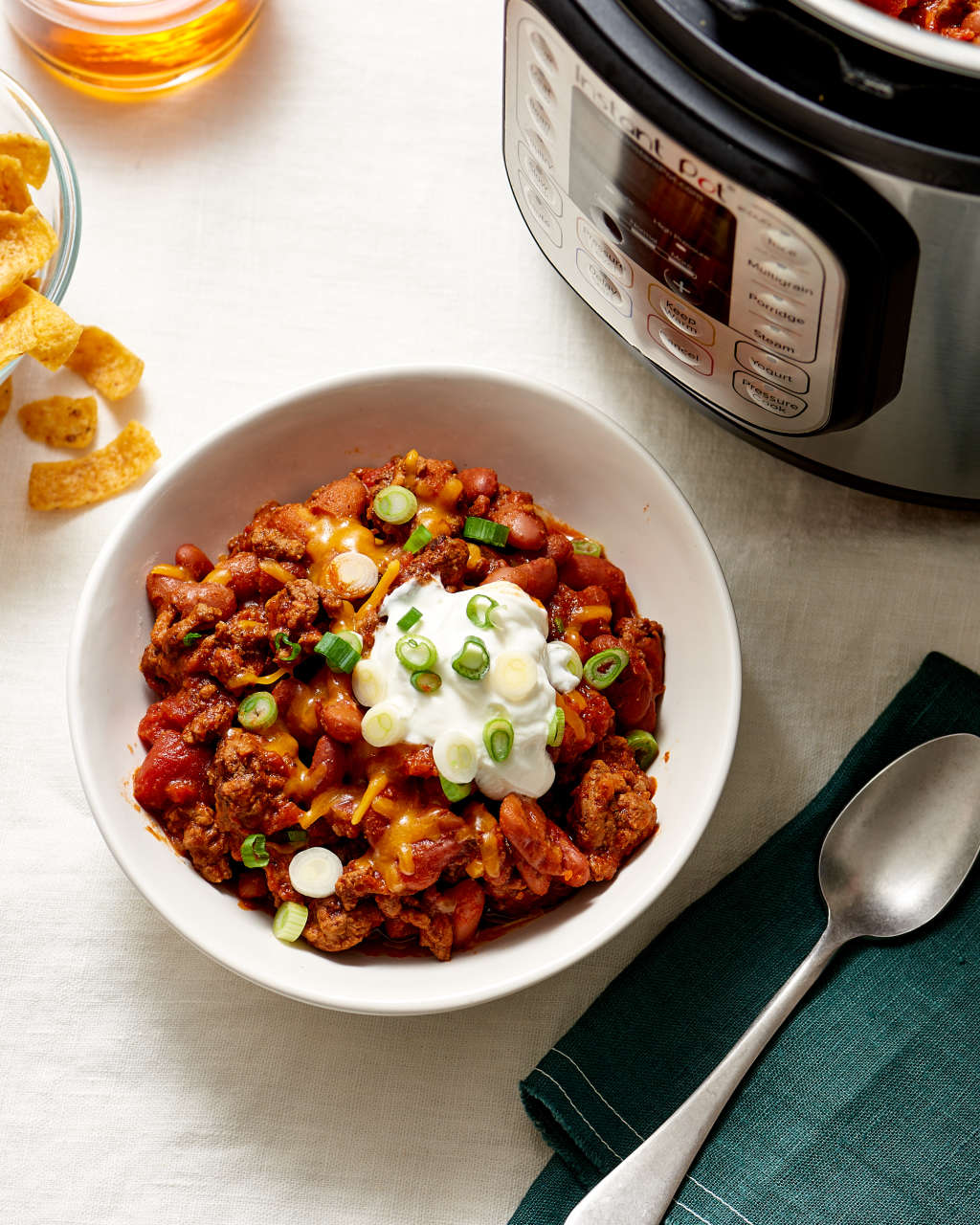 Easy, Classic Beef Chili Made in Your Instant Pot