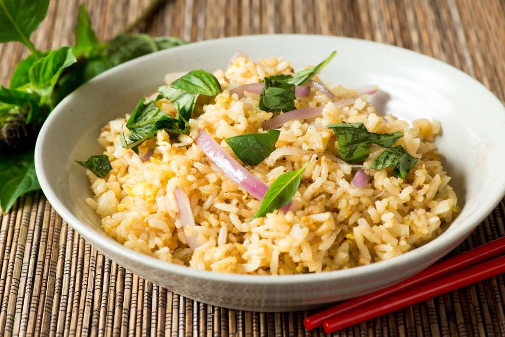 Recipe Andrea Nguyens Pho Fried Rice Kitchn