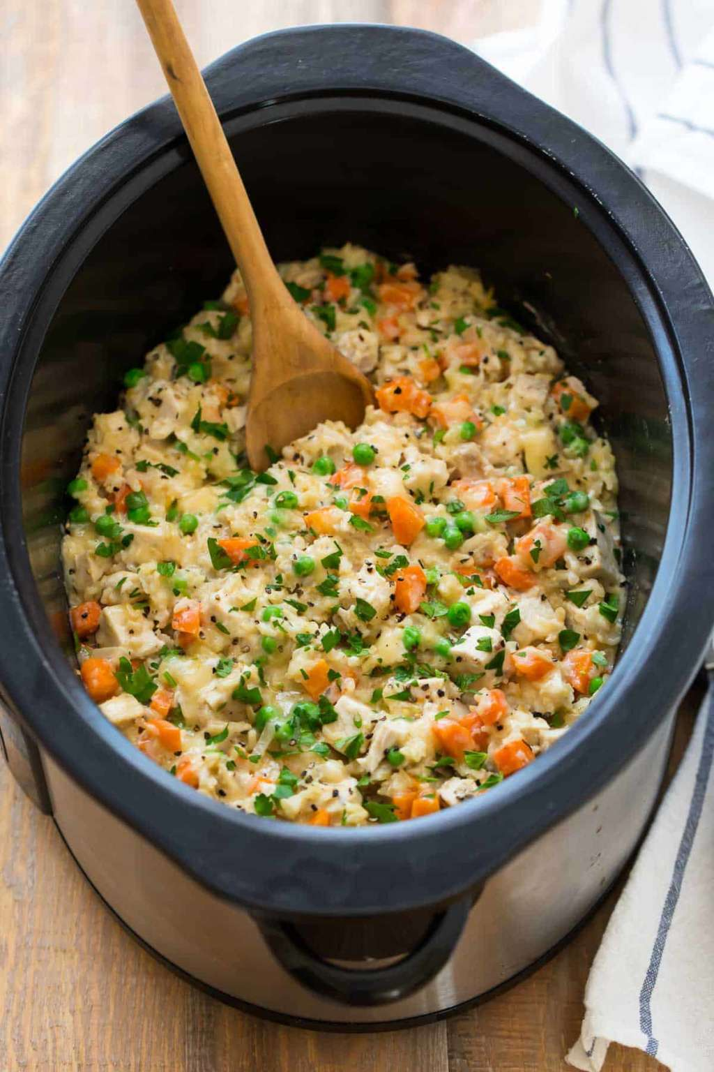 This Slow Cooker Chicken & Rice Is the Easy Meal You Crave