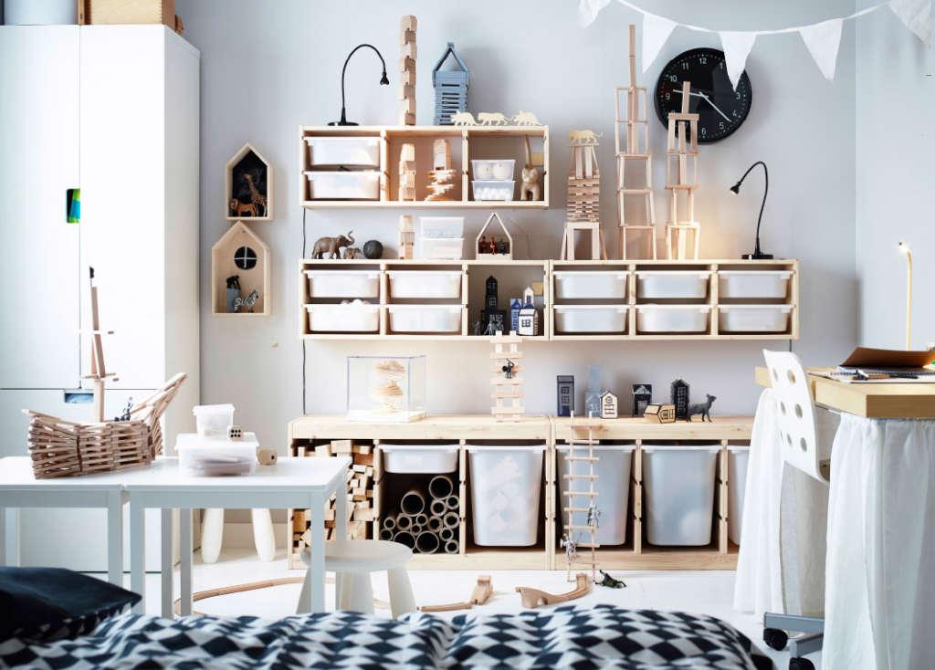 9 Kids Rooms Using IKEA's Trofast as Genius Storage