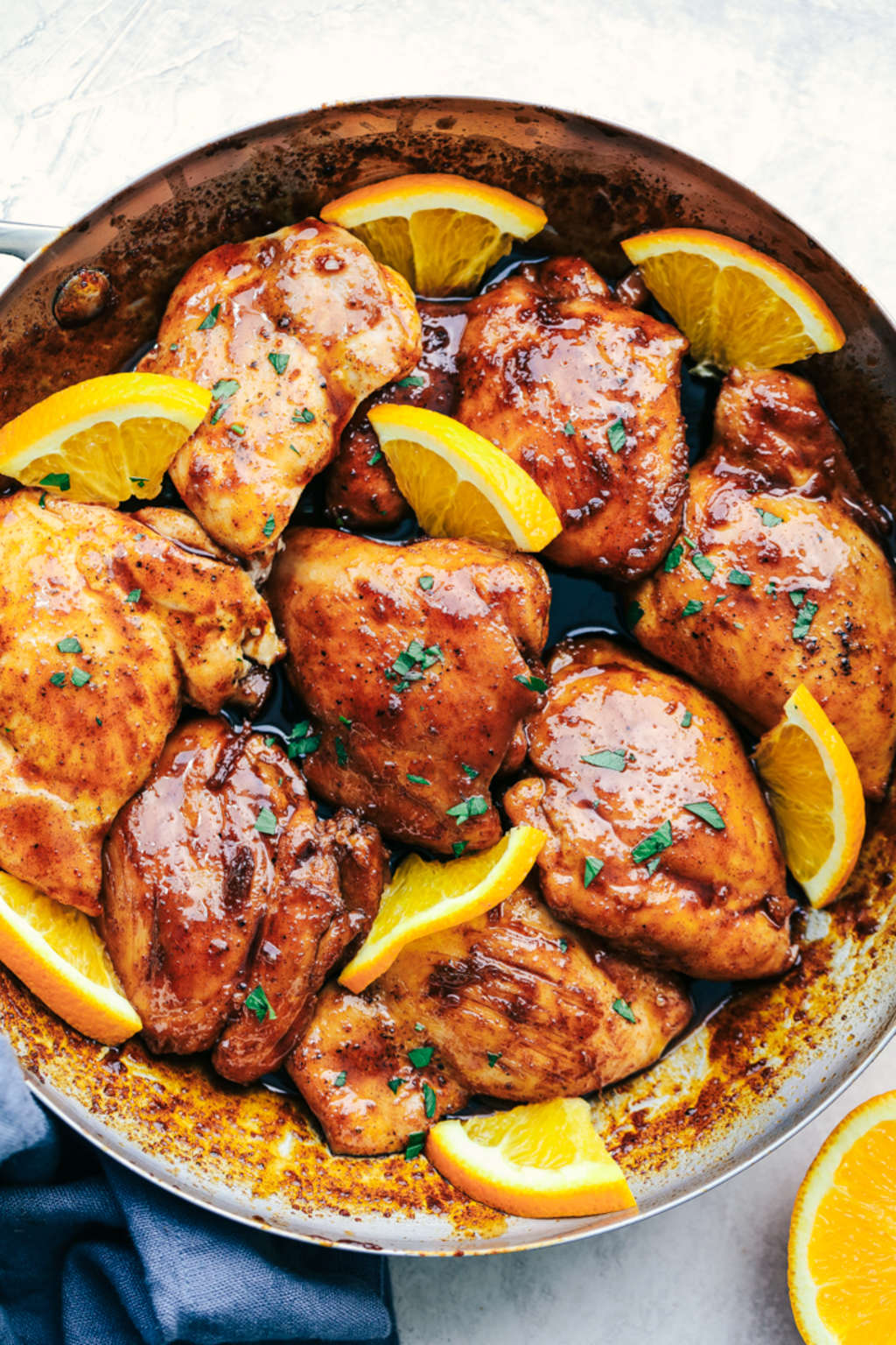 Make This Honey-Orange Skillet Chicken for Dinner Tonight