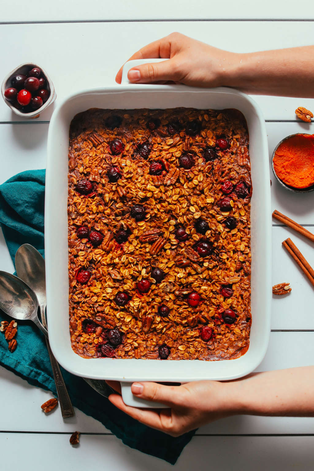 Pumpkin Baked Oatmeal Is the Best Thing to Eat for Breakfast