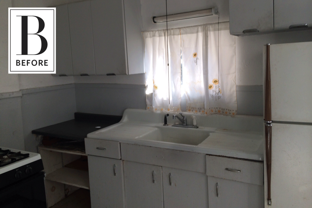 Before and After: A Dark & Dated Kitchen's Beautiful Update