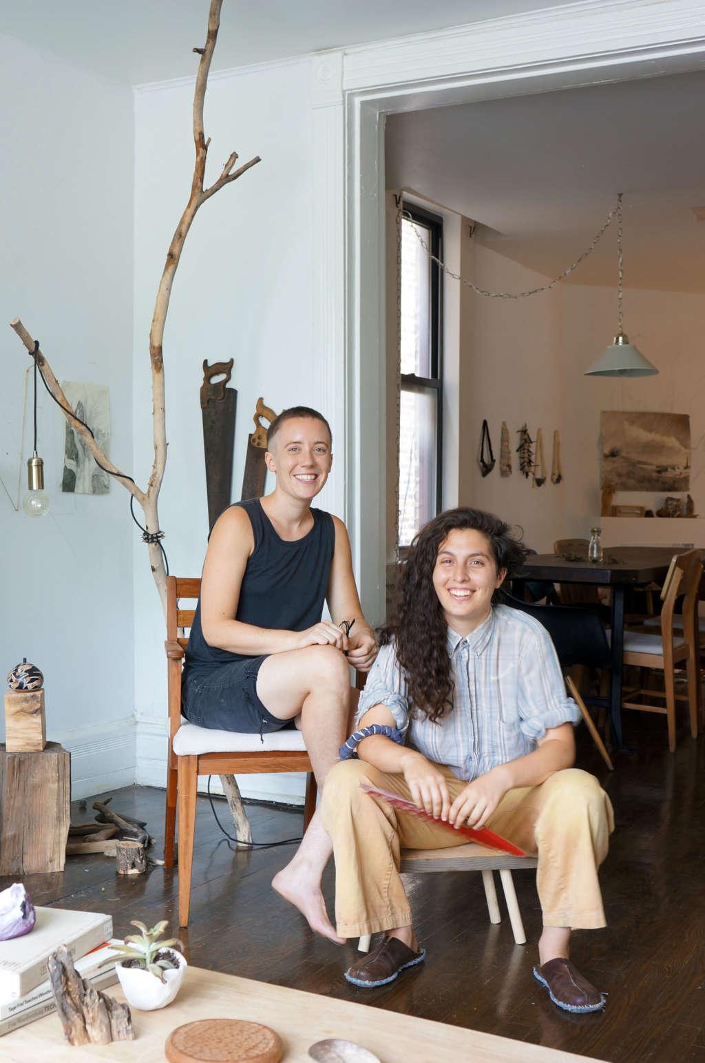 A Natural, Serene Chicago Home & Workshop