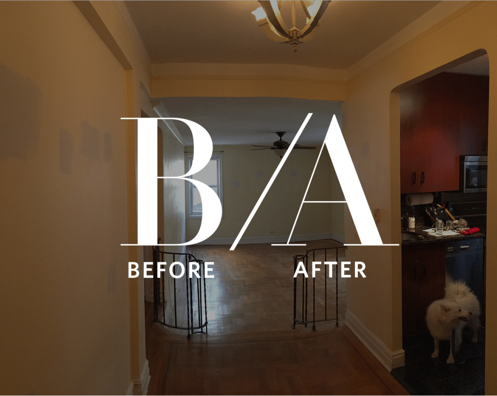 Mindblowing Before & After: An Awkward Apartment Grows Up