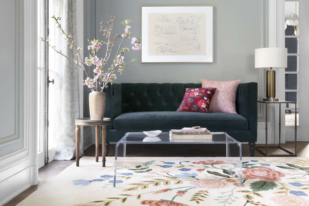 Rifle Paper Co. Just Launched Gorgeous Rugs and Pillows