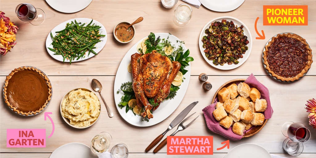 Our All-Star (Tried-and-Tested!) Celebrity Thanksgiving Menu