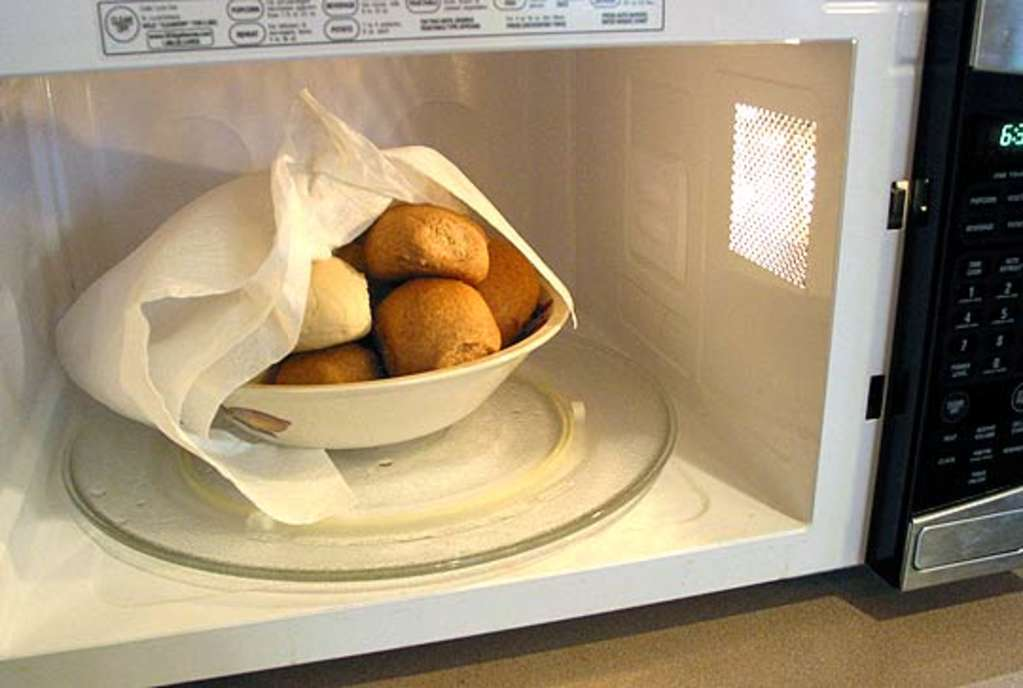 How To Warm Bread In The Microwave Kitchn