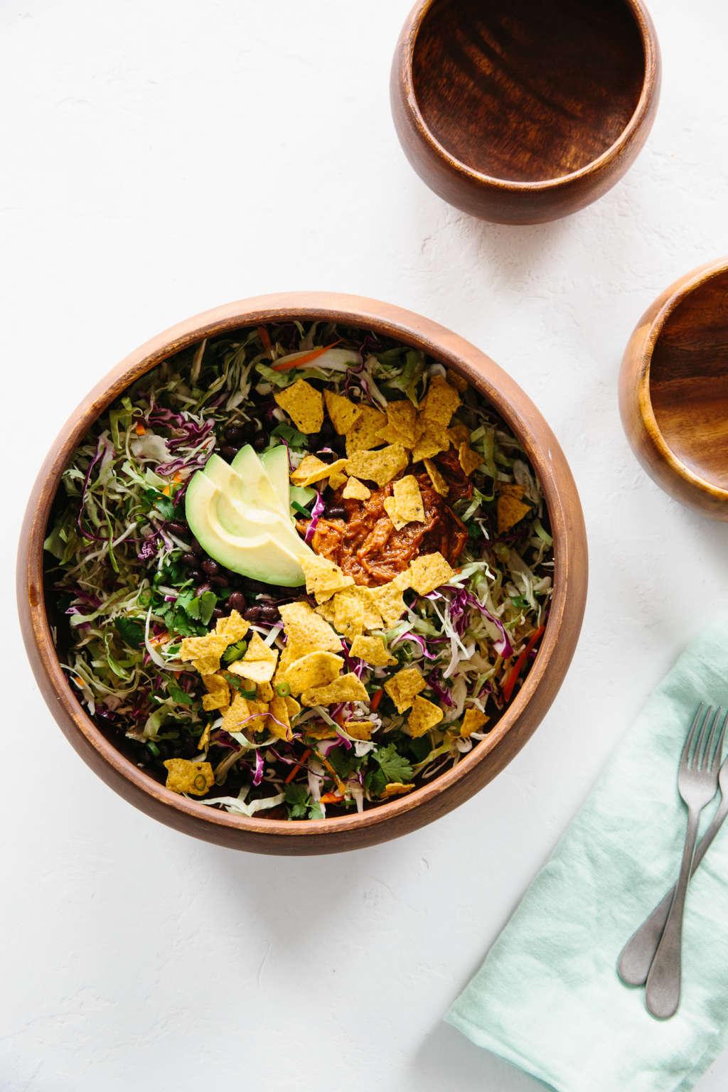 Recipe: Upside-Down Taco Bowl