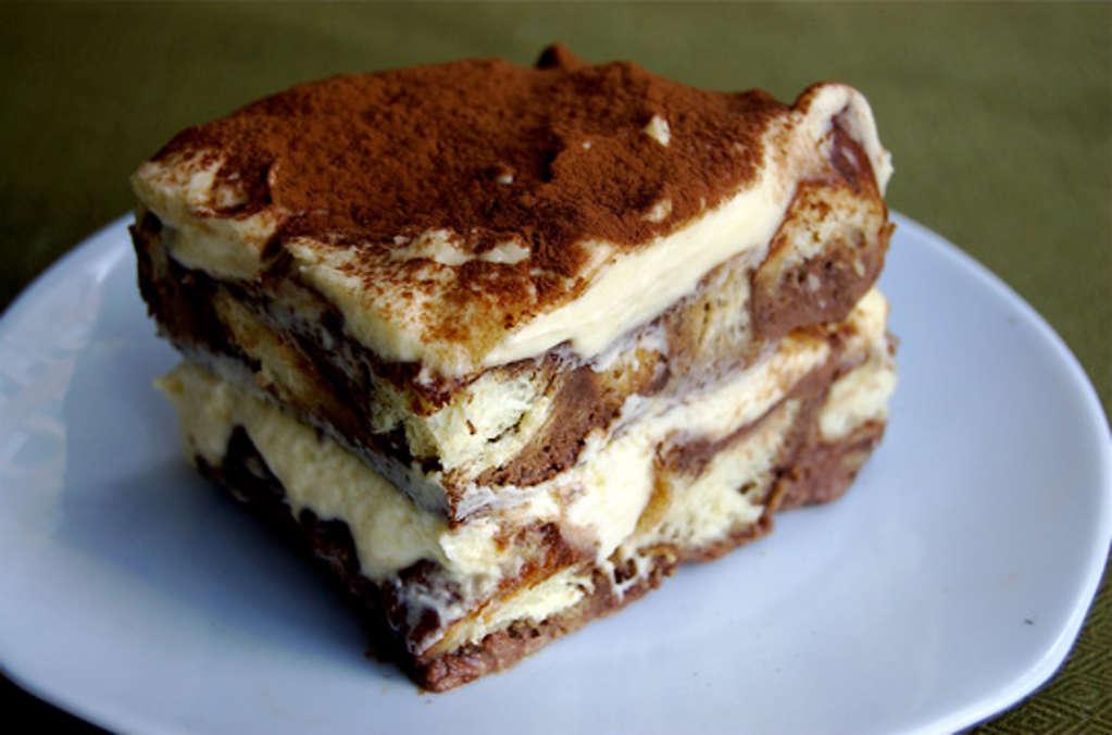 Recipe: Tiramisu Bread Pudding Guest Post from Teanna of Spork or Foon?
