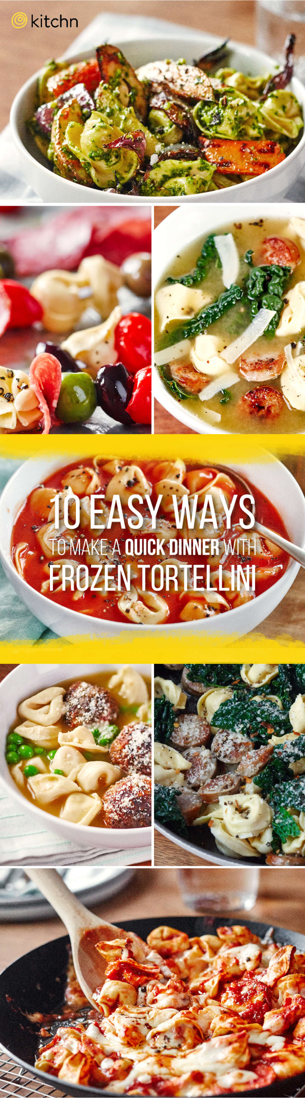 10 Easy Ways to Turn Frozen Tortellini Into a Quick Dinner