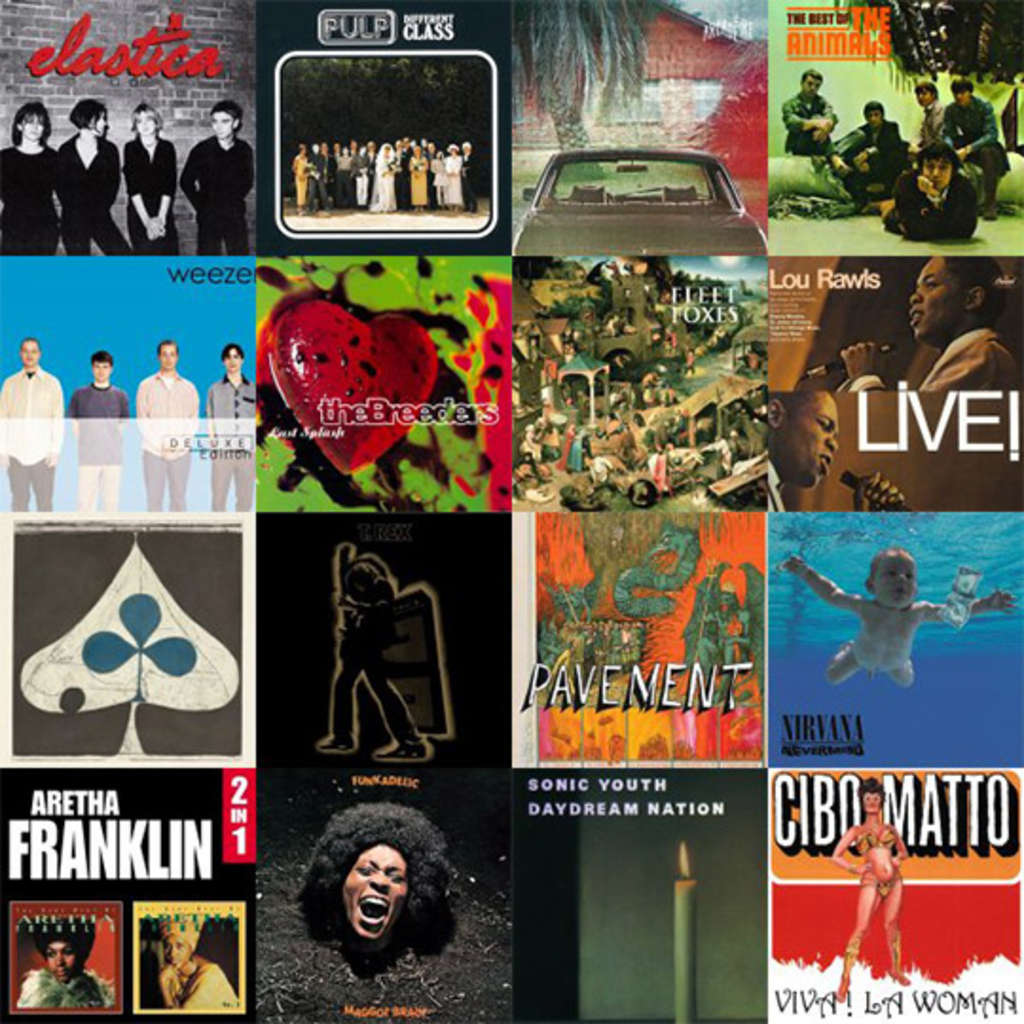 Anjali's Playlists: Totally '90s Cooking Jams & Indie-Soul-Funk Party Mix
