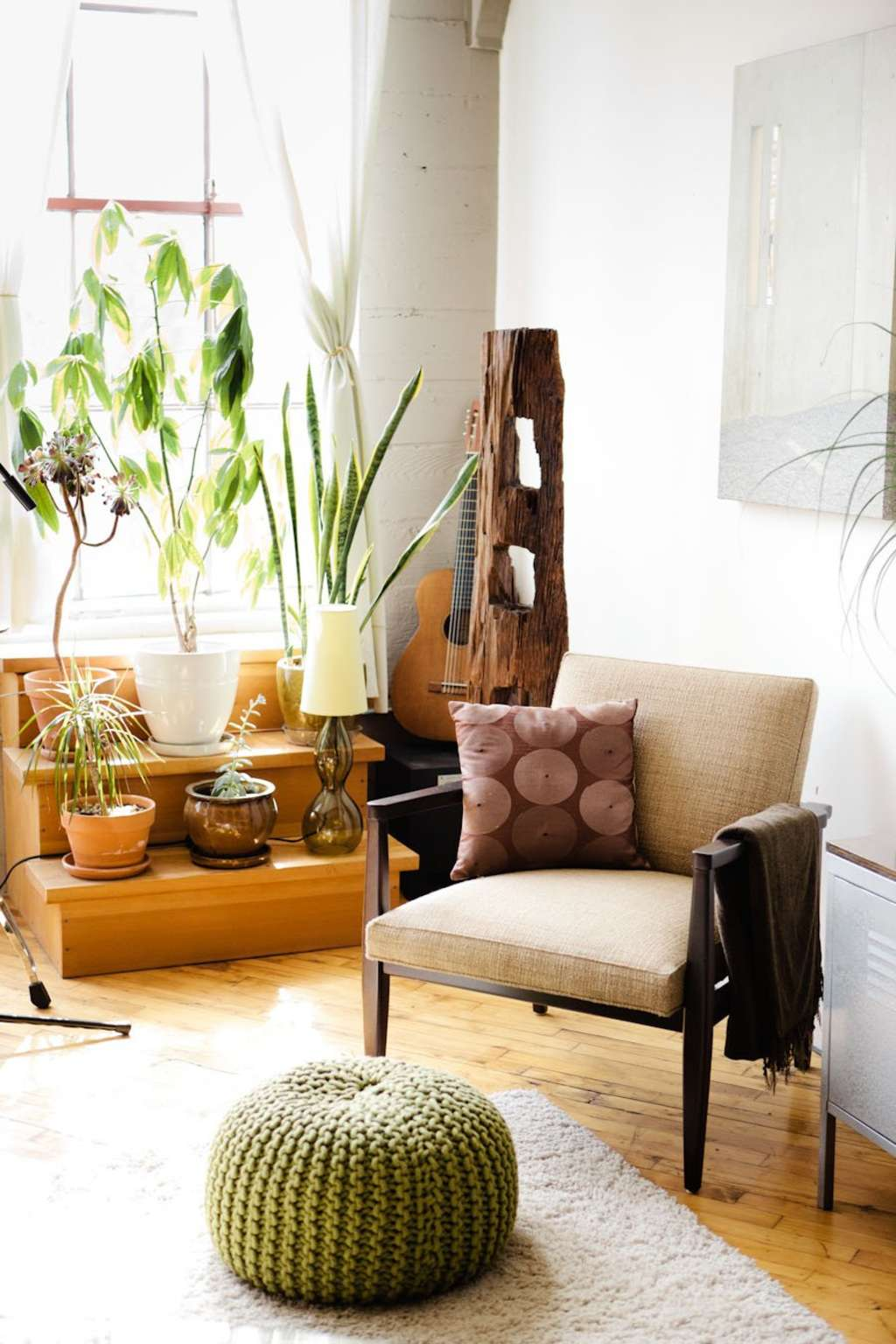 House Tour: A Converted Loft in Oakland