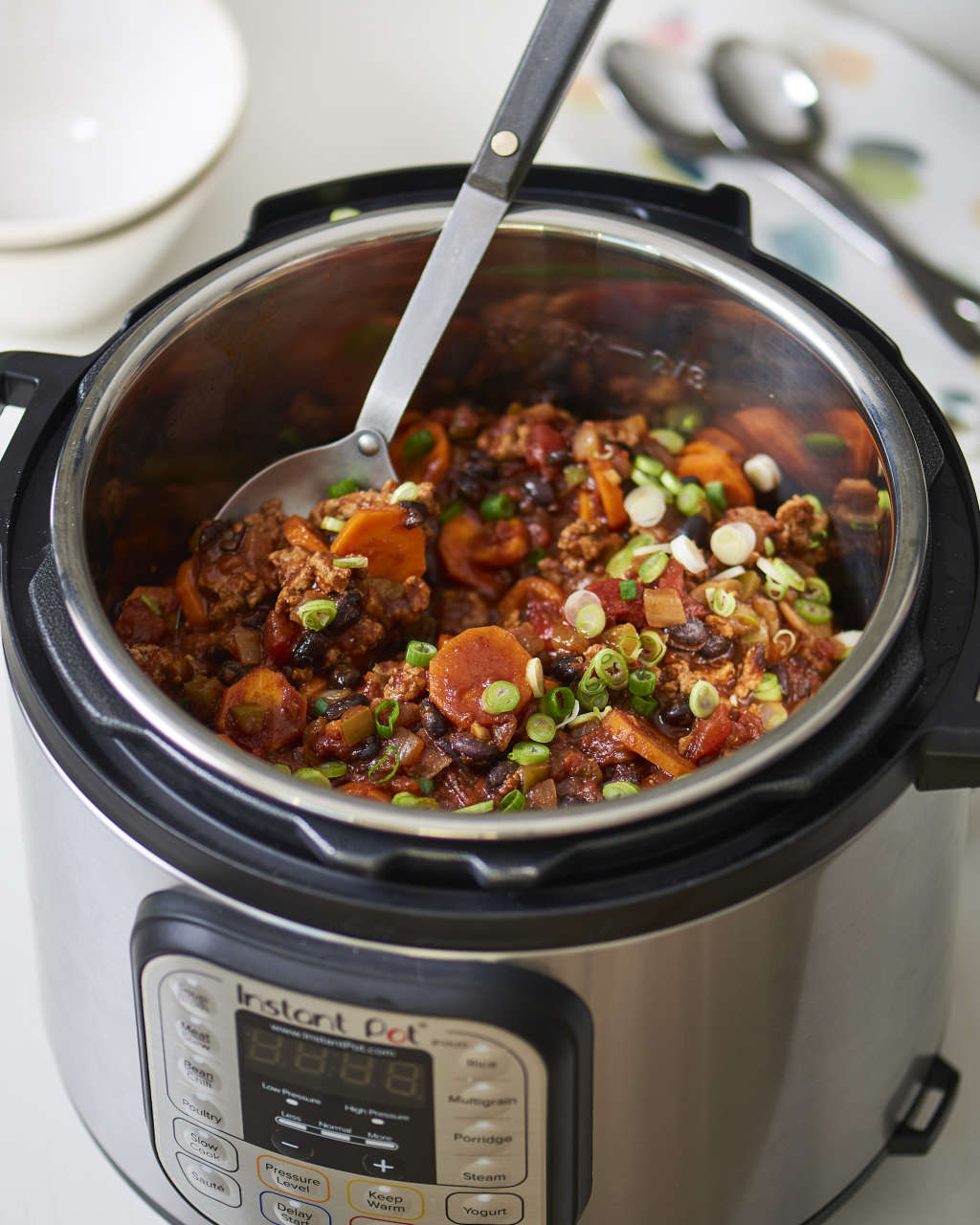 Instant Pot Turkey Chili That Tastes Like It Cooked All Day