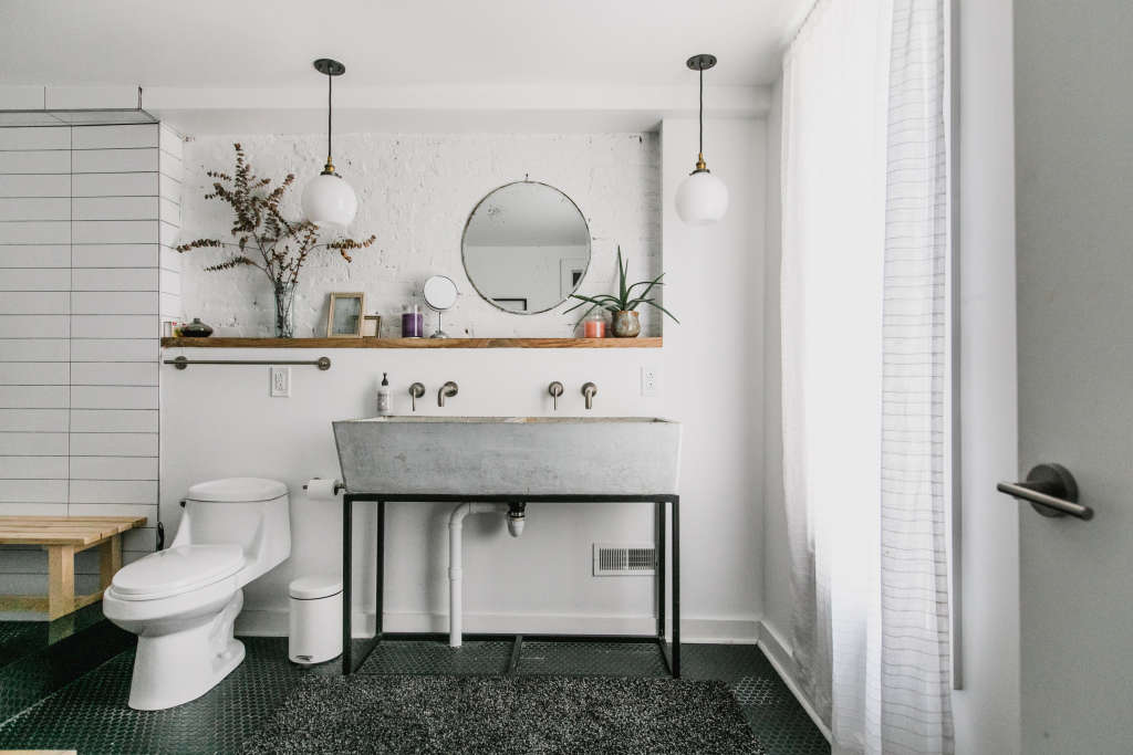 The Stylish Bathroom Design Direction Thats Perfect For A Tight