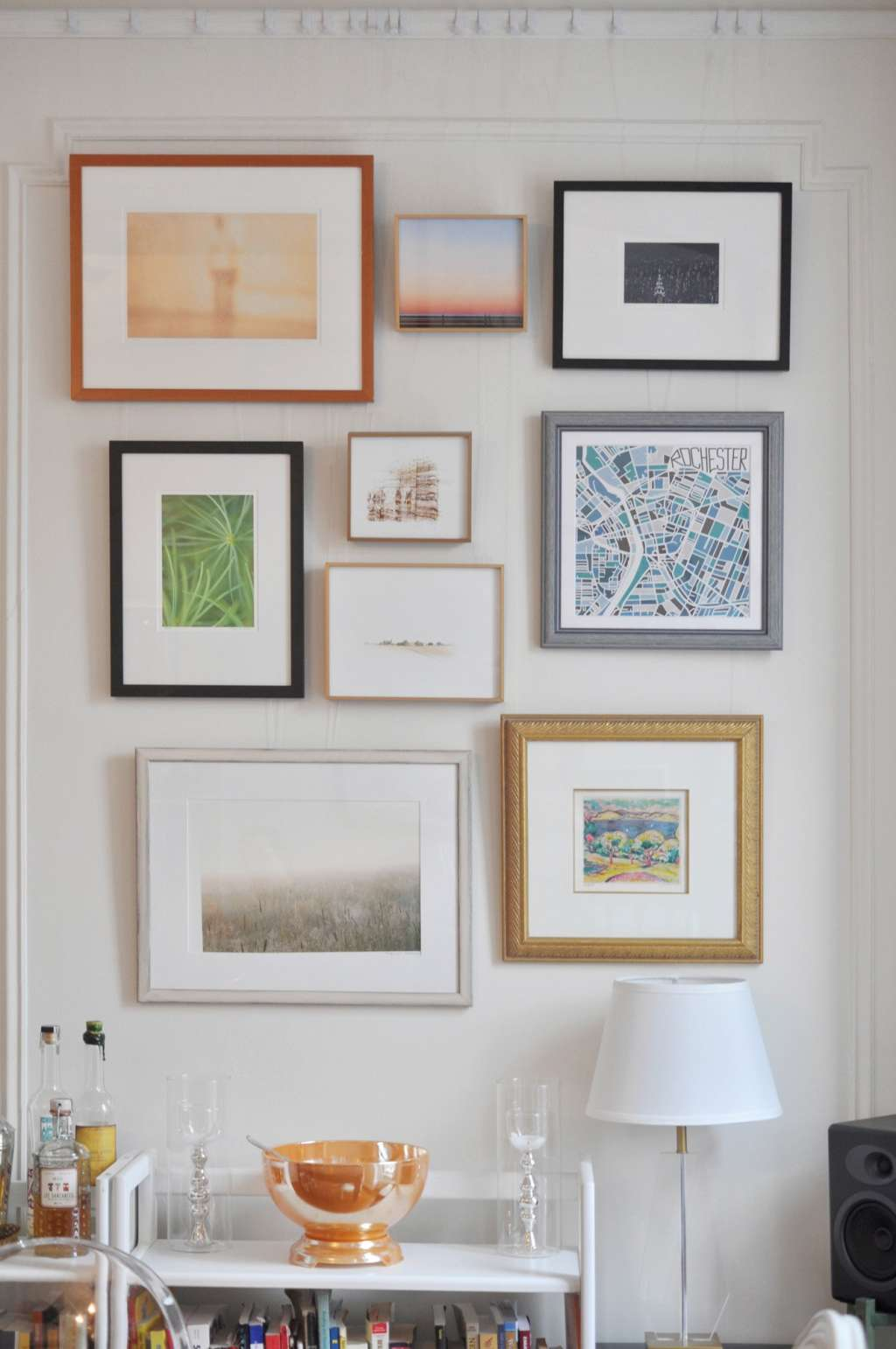 Frugal Living: How To Frame Your Art on the Cheap