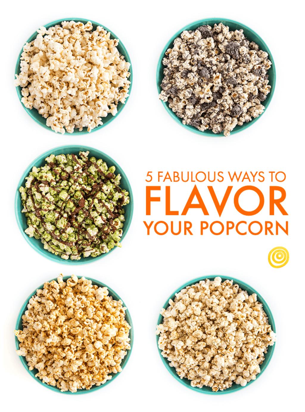 5 Fabulous Ways to Flavor Your Popcorn