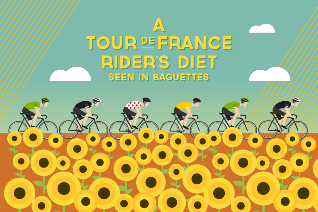 This Is How Much a Tour de France Rider Eats