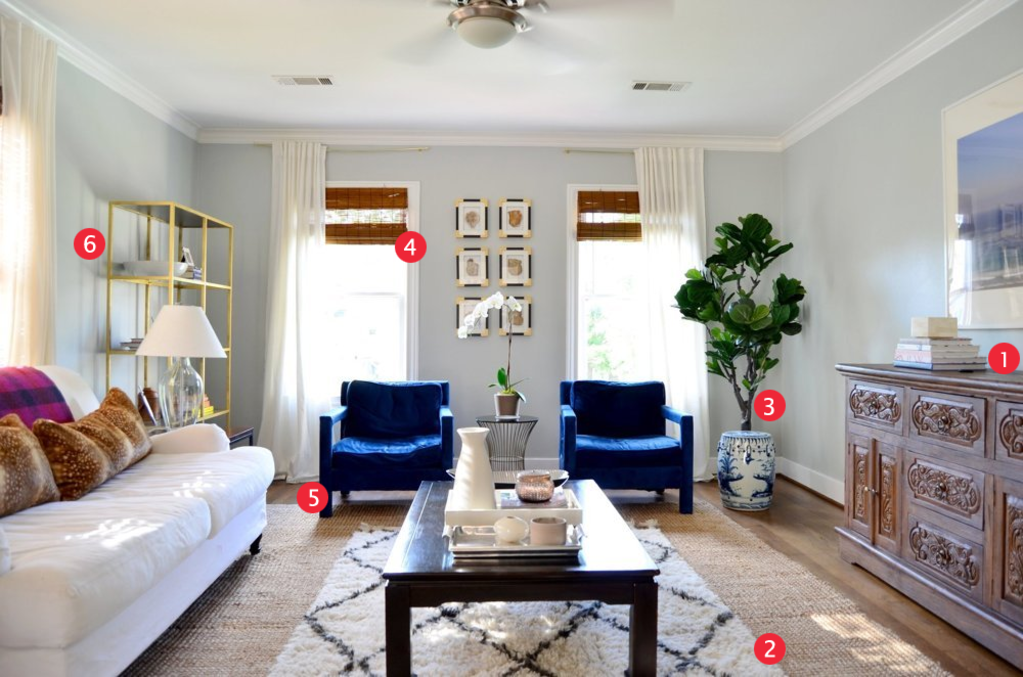 Why Erin & Jeff's Living Room Works: 6 Easy Ideas to Steal for Your Home