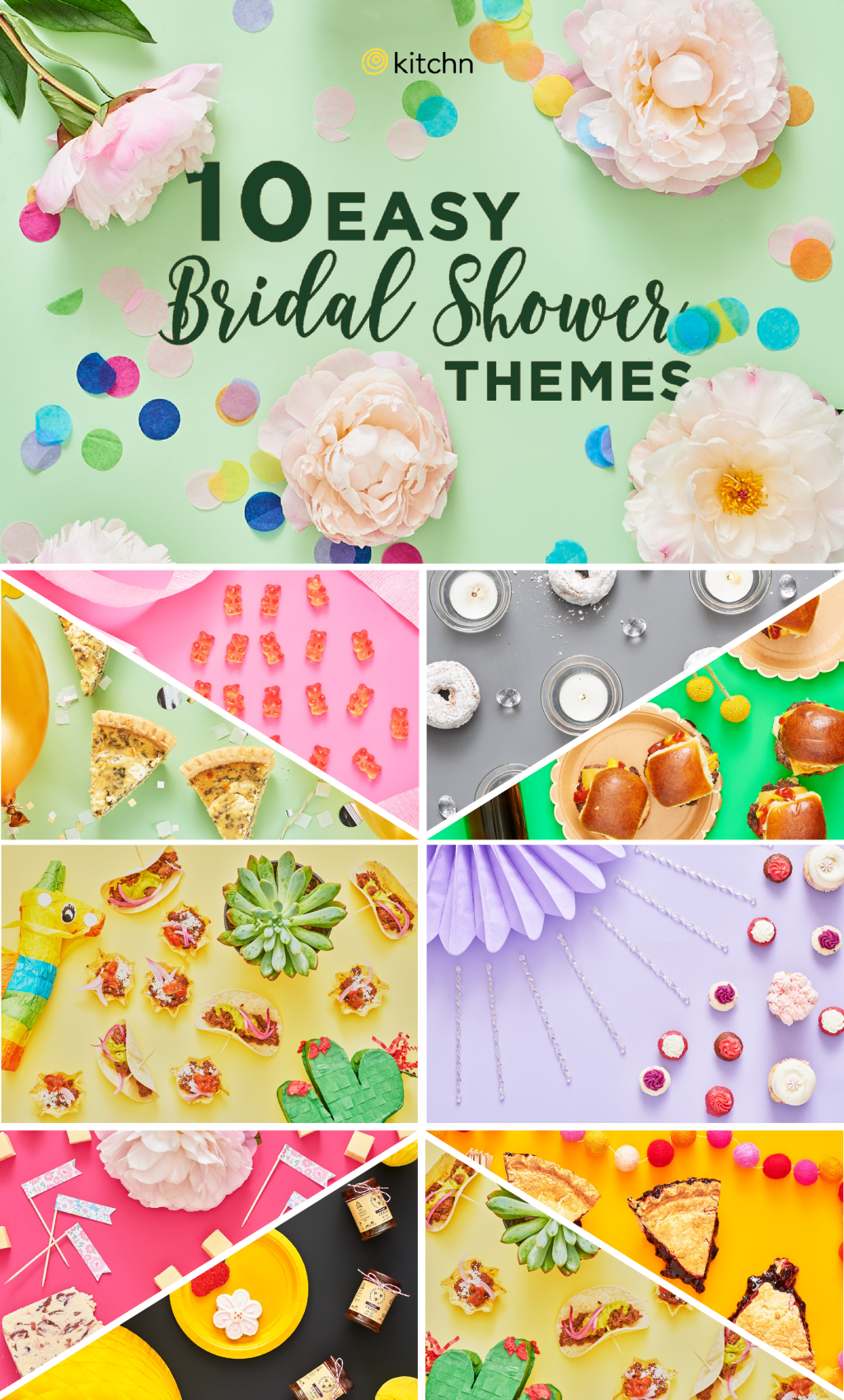 Bridal Shower Themes - Spring Summer