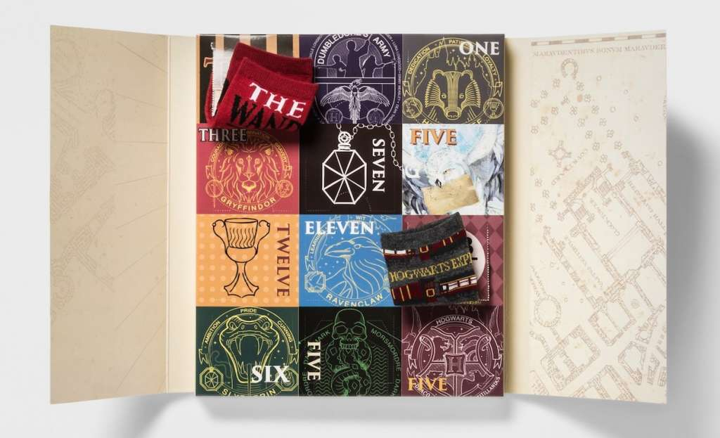 target 39 s harry potter sock advent calendar is back apartment therapy. Black Bedroom Furniture Sets. Home Design Ideas