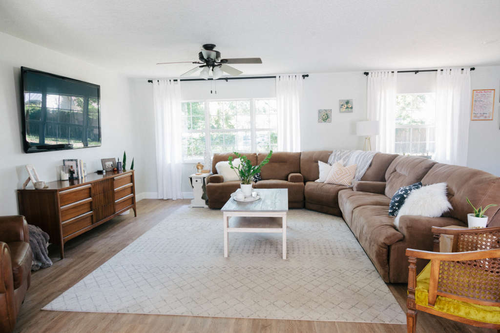 A Laid Back Home Was Decorated on a Shoestring Budget