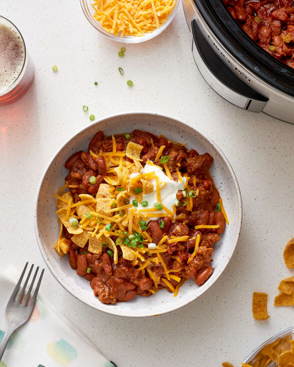 How To Make the Tastiest, Easiest Slow Cooker Beef Chili